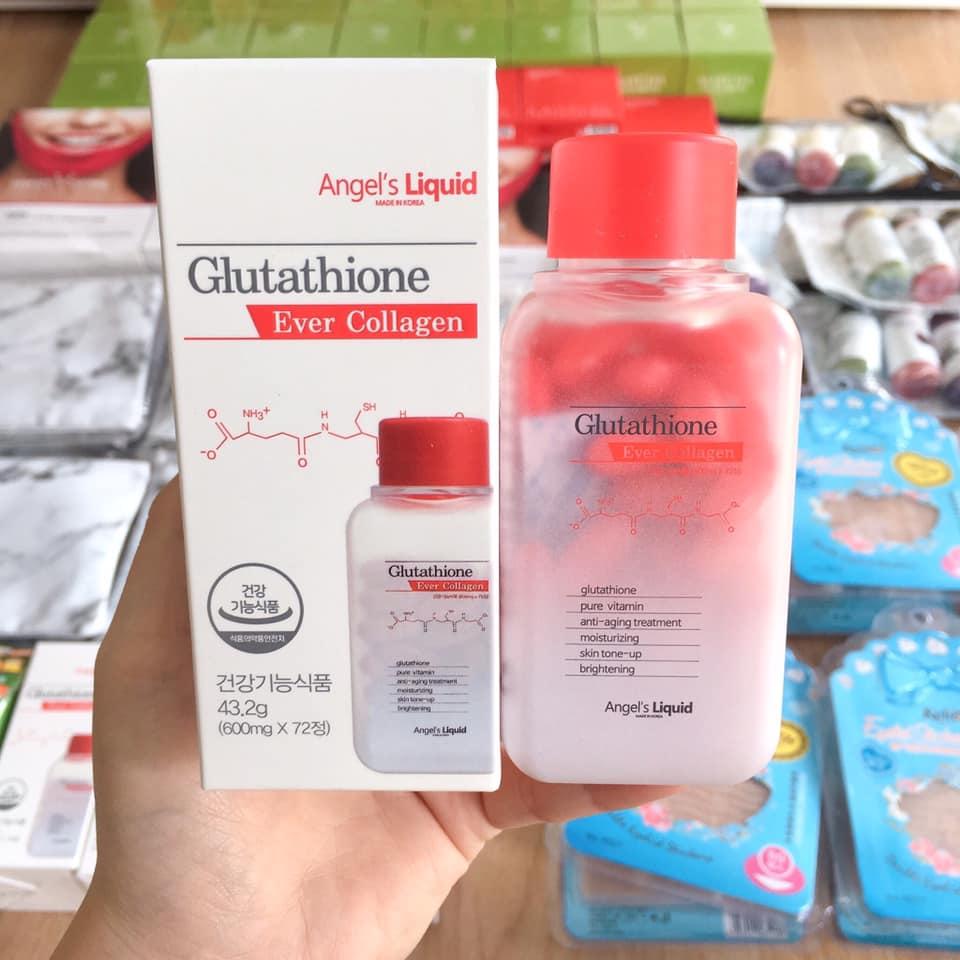 vien-trang-da-Glutathione-Ever-Collagen-72-vien-han-Quoc