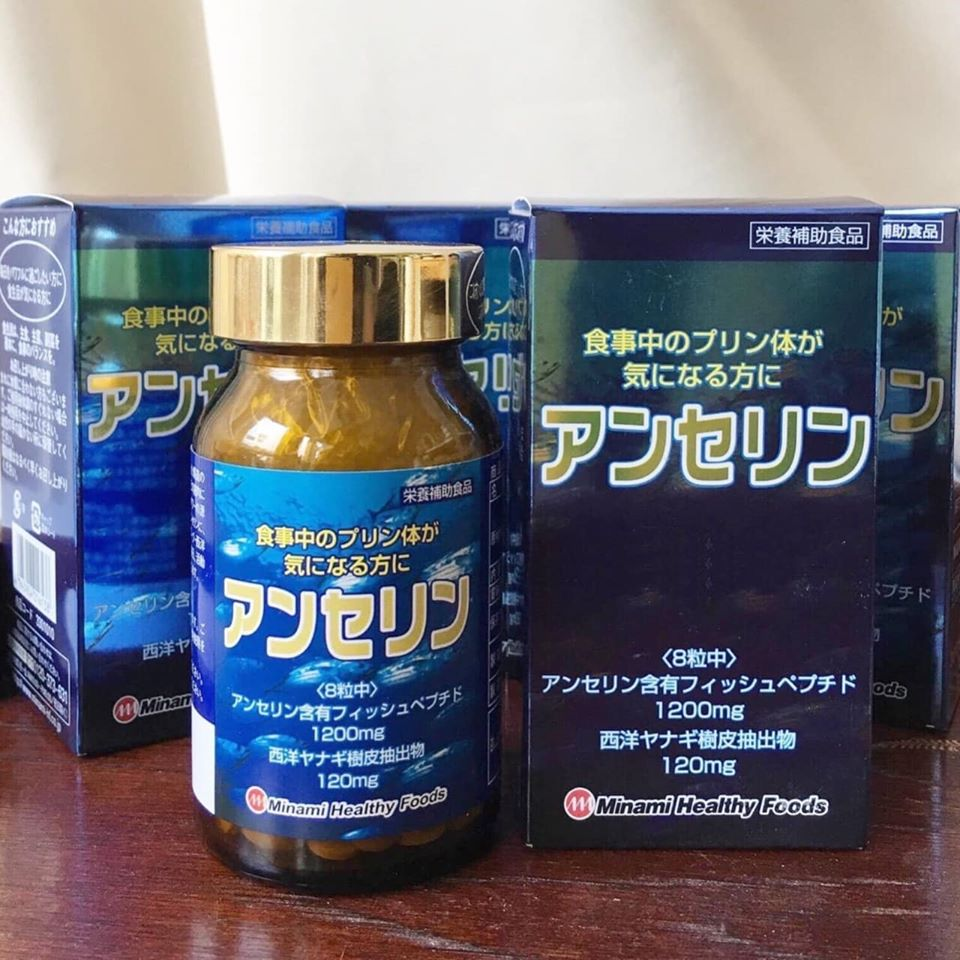 thuoc-tri-gout-Anserine-Minami-Healthy-nhat-ban