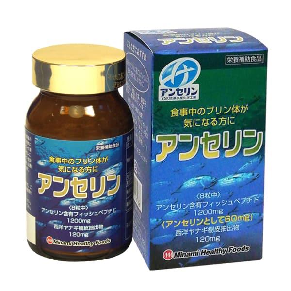 thuoc-tri-Gout-Anserine-Minami-Healthy-Foods-240-vien-nhat-ban